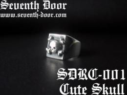 Cross Bone Skull Ring