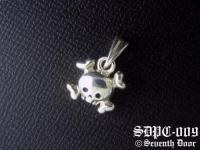 "POP & ROCK ""Reversible"" Skull Pendant"